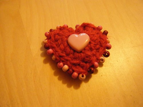 Valentine's Crotcheted Heart