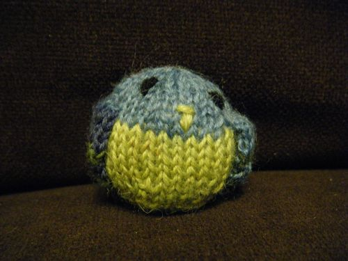 Knitted Pigeon 01