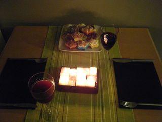 Romantic Valentine's Table