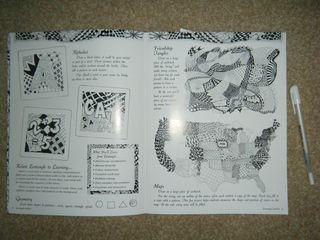 S&C - Zentangle book 2