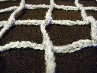 Crotched football net