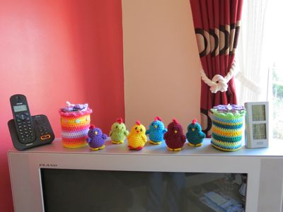 Crochet things on TV