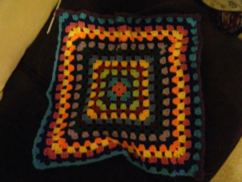 Granny square table cloth - part 3 (1)