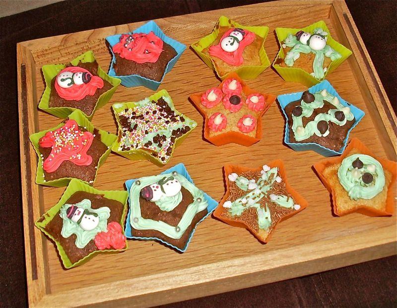 Christmas Star Cakes