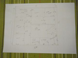 Patchwork chair plan