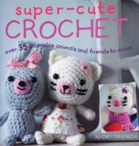 Super-cute crotchet book