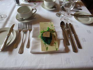 Wedding table - Rachel's place setting