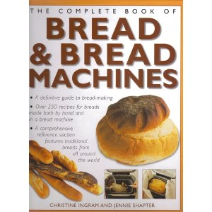 Bread making recipe book
