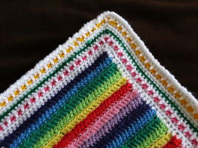 Crochet square blanket - finished (14) (800x600)