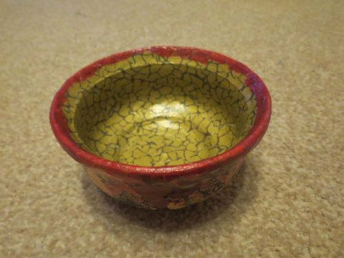 Decopatching clay pot (3)