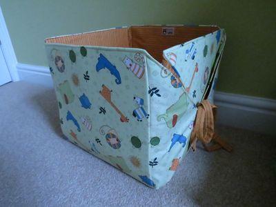 Nursery finishing touches - box