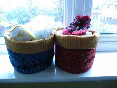 Nursery finishing touches - bags