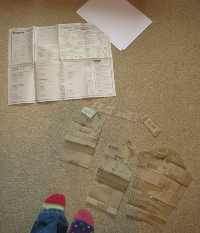 Upcycling - baby t-shirt from a t-shirt (1)