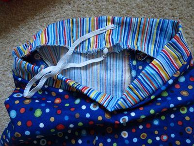 Sewing big butt baby shorts (8)