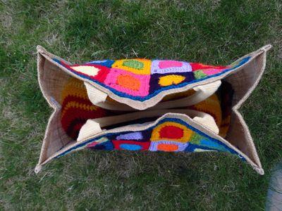 Finished crochet patchwork bag (3) (800x600)