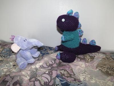 Crochet dinosaur (5) (800x600)