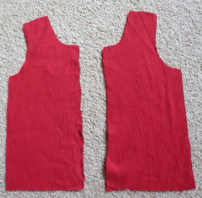 Upcycling - baby t-shirt from a t-shirt (6)