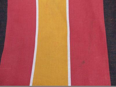 Vintage deckchair fabric (2)