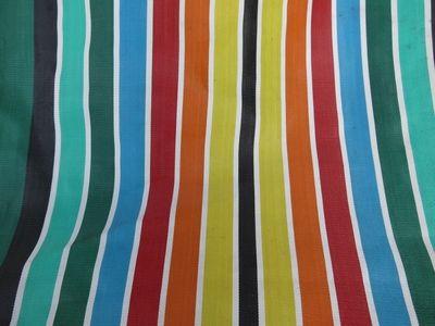 Vintage deckchair fabric (1)