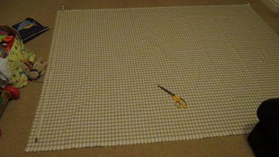 Making a front door blind (1)