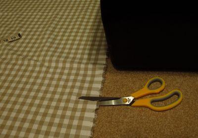 Making a front door blind (2)