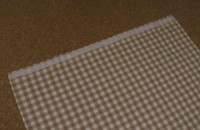 Making a front door blind (4)