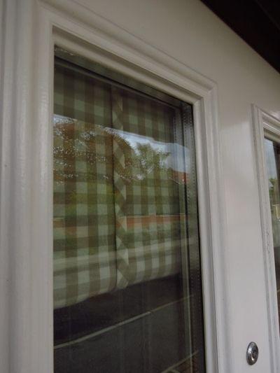 Making a front door blind (22)