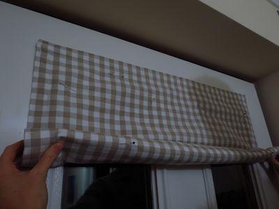 Making a front door blind (9)