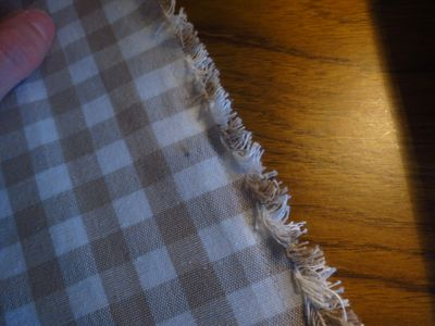 Making a front door curtain (1)