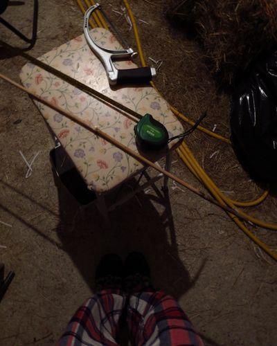 Making a front door blind (3)