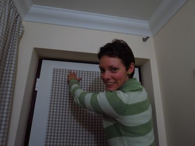 Making a front door blind (8)