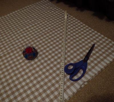 Making a front door blind (12)