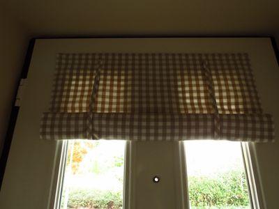 Making a front door blind (23)