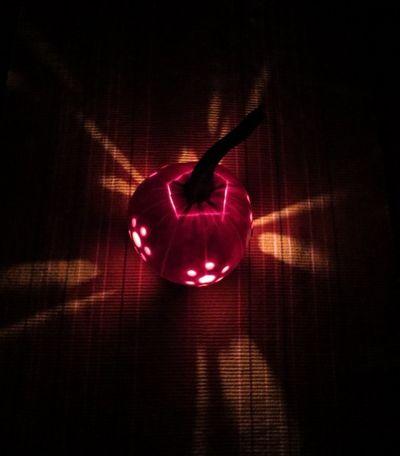Carving our Pumpkins (15)
