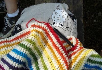 Jenerally Speaking's Crochet Mandala (2)