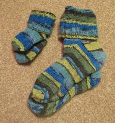 Mummy and Son socks (5)
