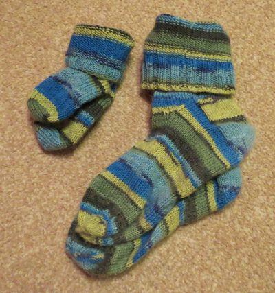 Mummy and Son socks (5)