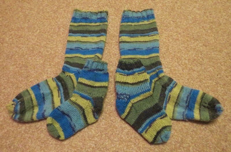 Mummy and Son socks (7)