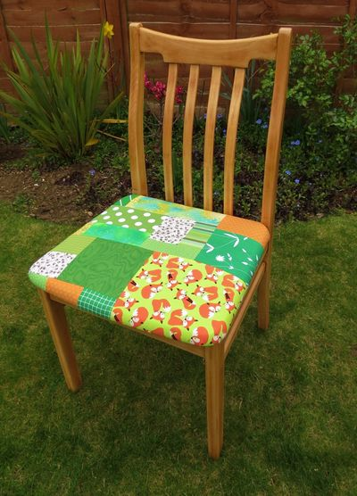 Patchwork kitchen chair cover (10)