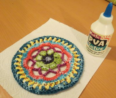 Jenerally Speaking's Crochet Mandala (1)