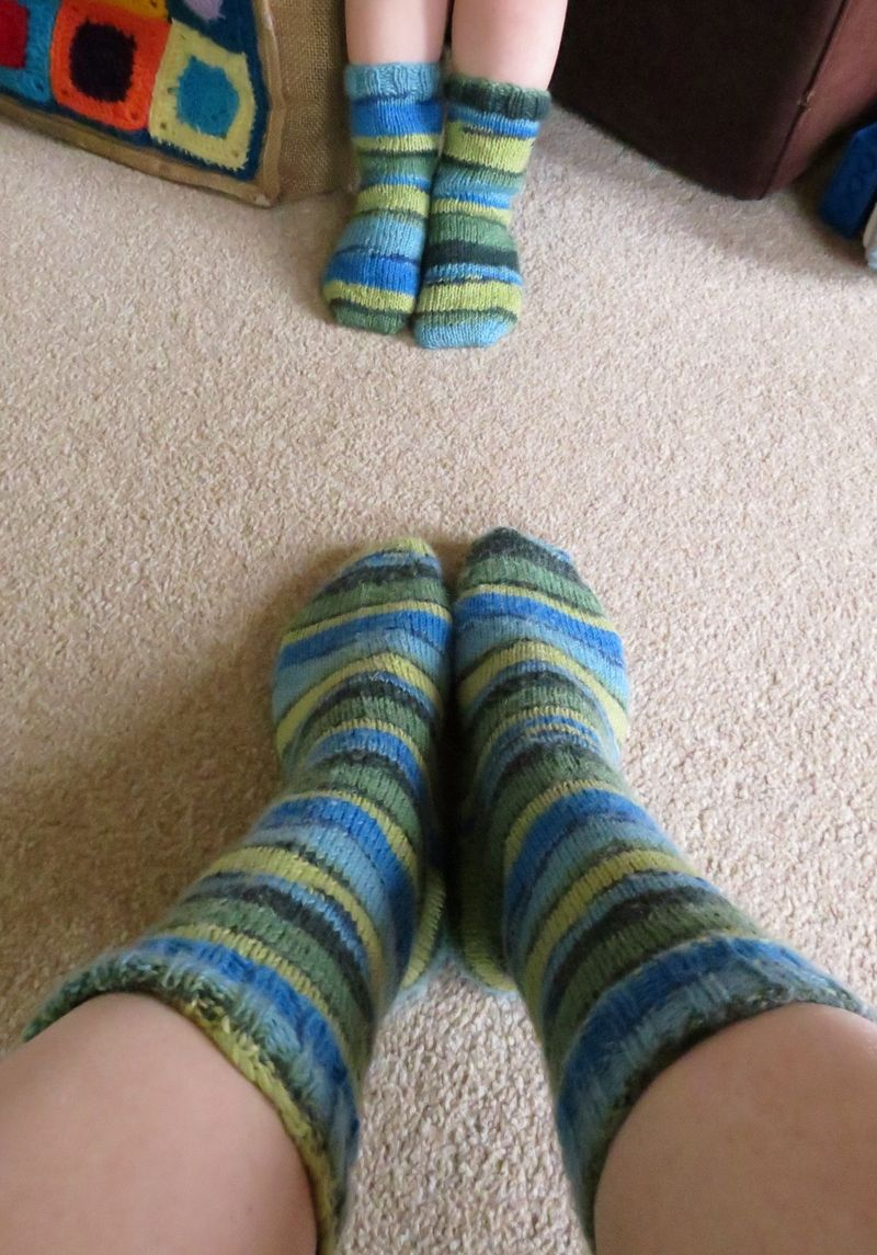 Mummy and Son socks (9)