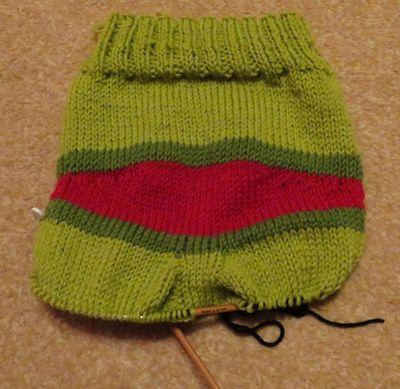 Monster bottom knitted trousers (8)
