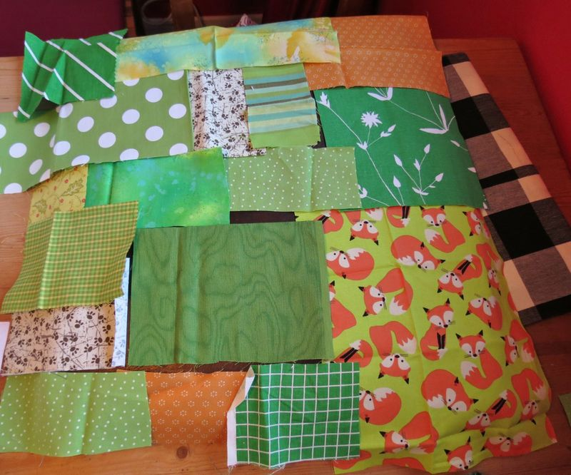 Patchwork kitchen chair cover (4)