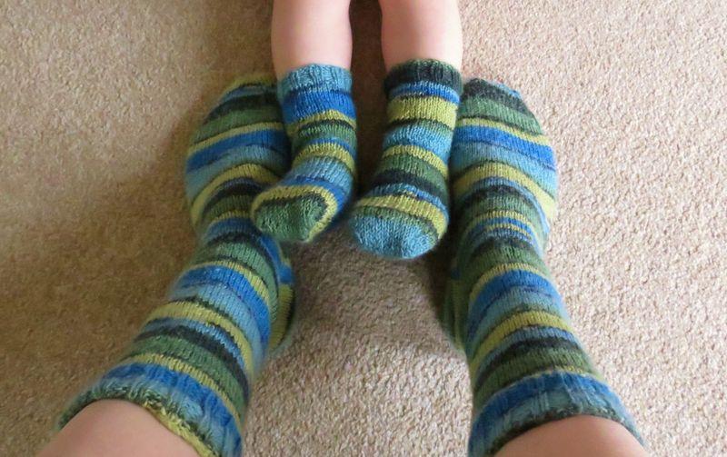 Mummy and Son socks (10)