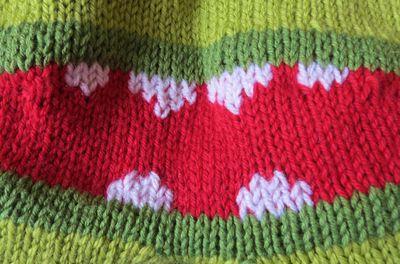 Monster bottom knitted trousers (2)