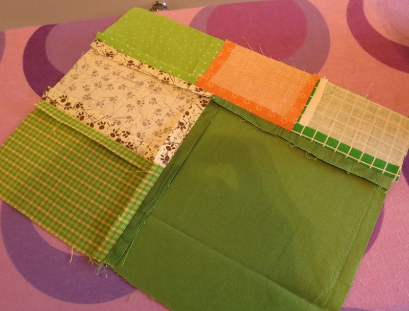 Patchwork kitchen chair cover (7)