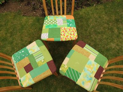Patchwork kitchen chair cover (12)