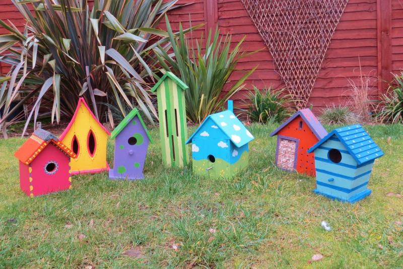 Birdhouses and bugboxes (1)